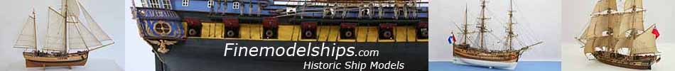 Modelships.de Historic Ship Models